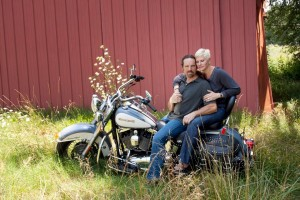Patty and Bruce Harley