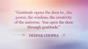 Gratitude_Deepok Chopra